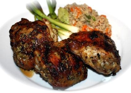 recipe: hot chicken marinade for grilling [26]