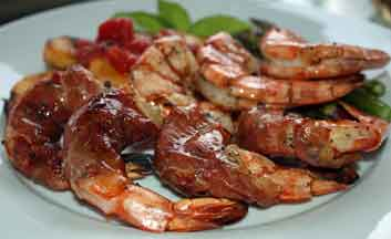 Grilling shrimp is always a winner!